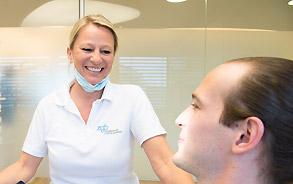Bleaching-Behandlung in der Zahnarztpraxis Zieglgänsberger, Dietzenbach, Kreis Offenbach, Hessen