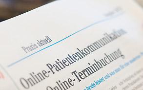 Fachzeitschrift Praxis aktuell - Zahnarztpraxis Zieglgänsberger in Dietzenbach, Kreis Offenbach/Hessen - hier klicken, um zur Seite Aktuelles zu gelangen