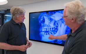 3D-Röntgenbild - Zahnarztpraxis Zieglgänsberger, Dietzenbach, Kreis Offenbach, Hessen